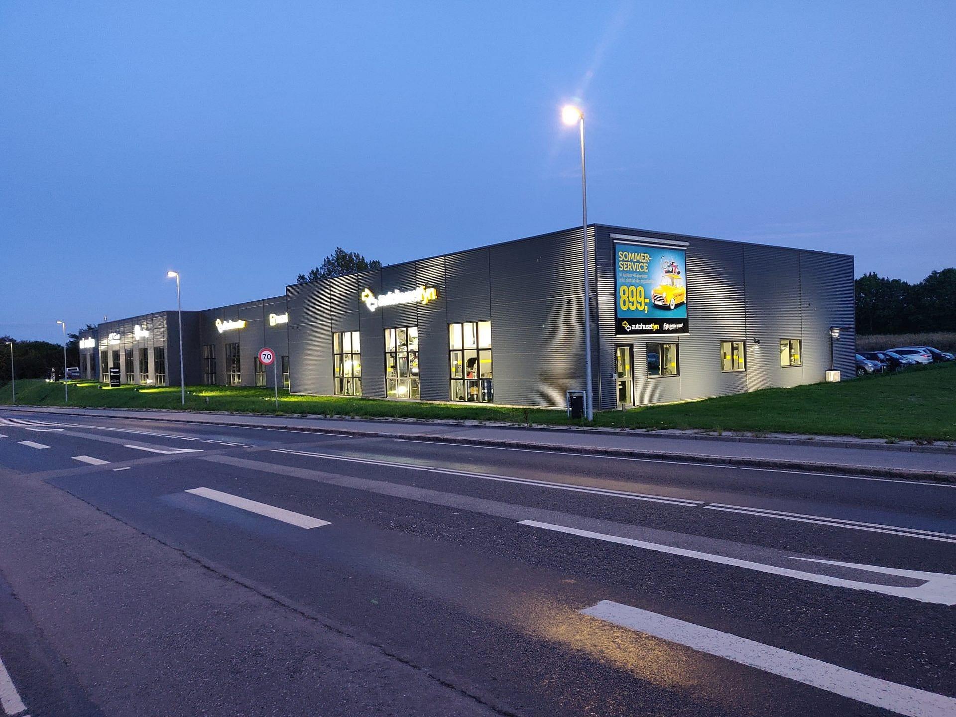 Autohuset Marslev Erhverv elektriker i Odense
