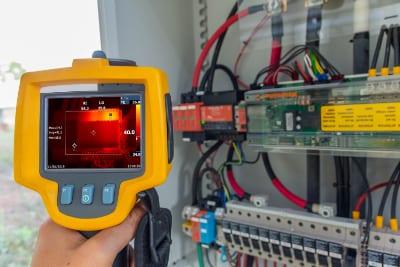 Termografering kontakt din lokale elektriker ODENSE EL ring 65905510