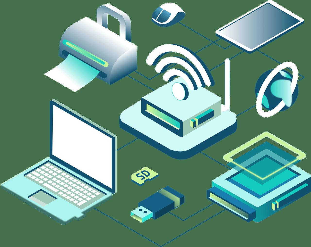 Trådløs netværk, trådløs internet det løser ODENSE EL Kontakt os på   ☎ 65905510
