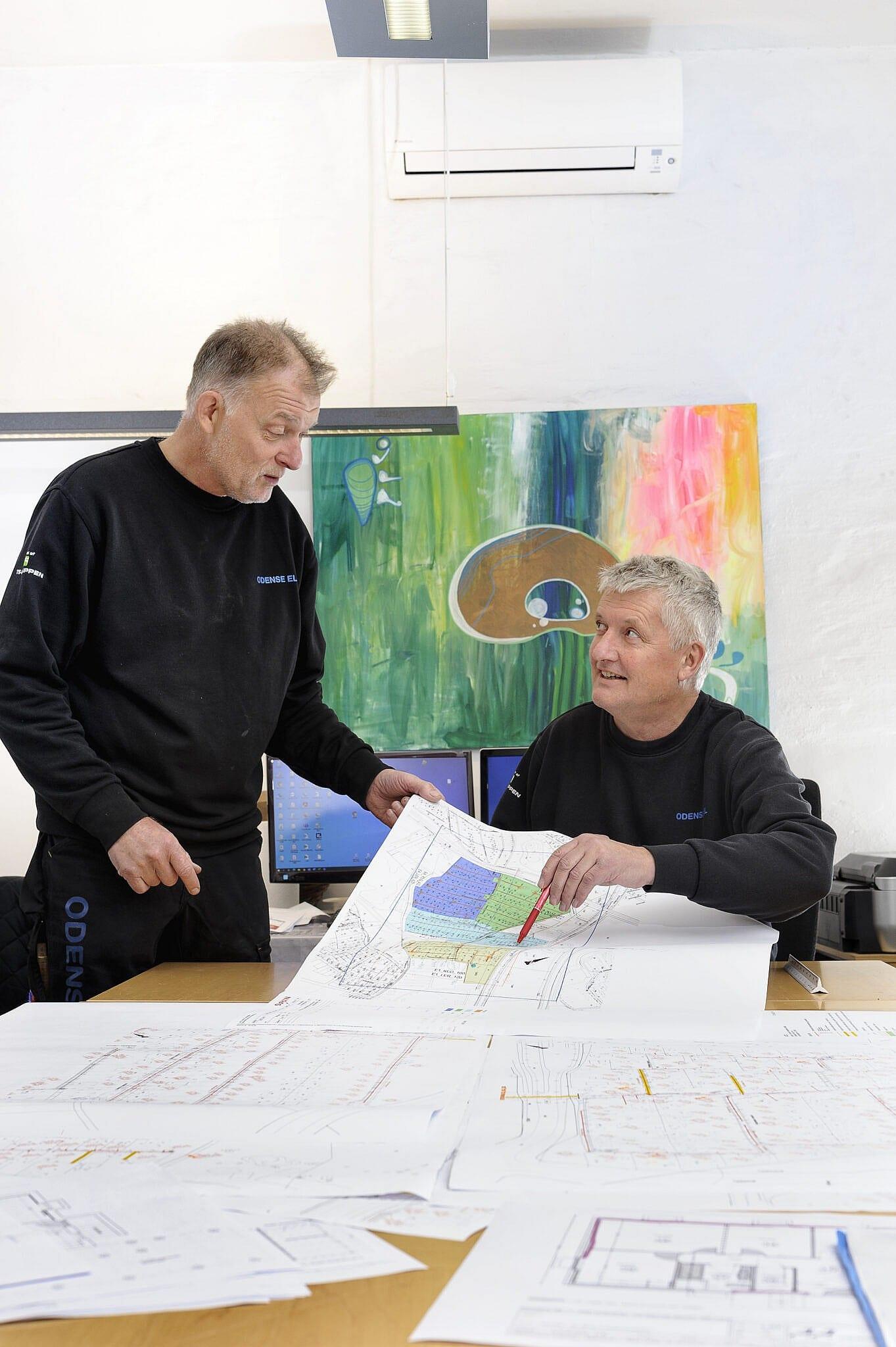 Lars Rousing og Martin Kirchhübel ODENSE EL ApS